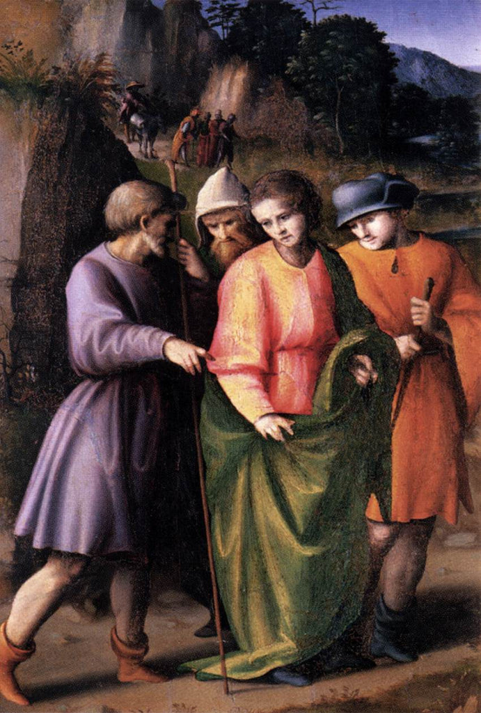 Francesco Bacchiacca - Joseph Sold by His Brethren