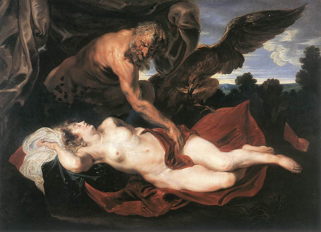 Sir Anthony van Dyck - Jupiter and Antiope
