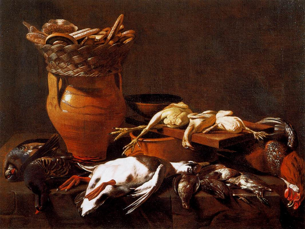 Evaristo Baschenis - Kitchen Still-Life