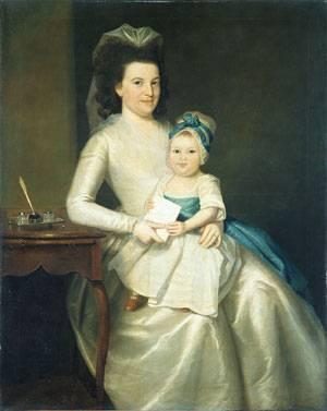 Ralph Earl - Lady Williams and Child 1783