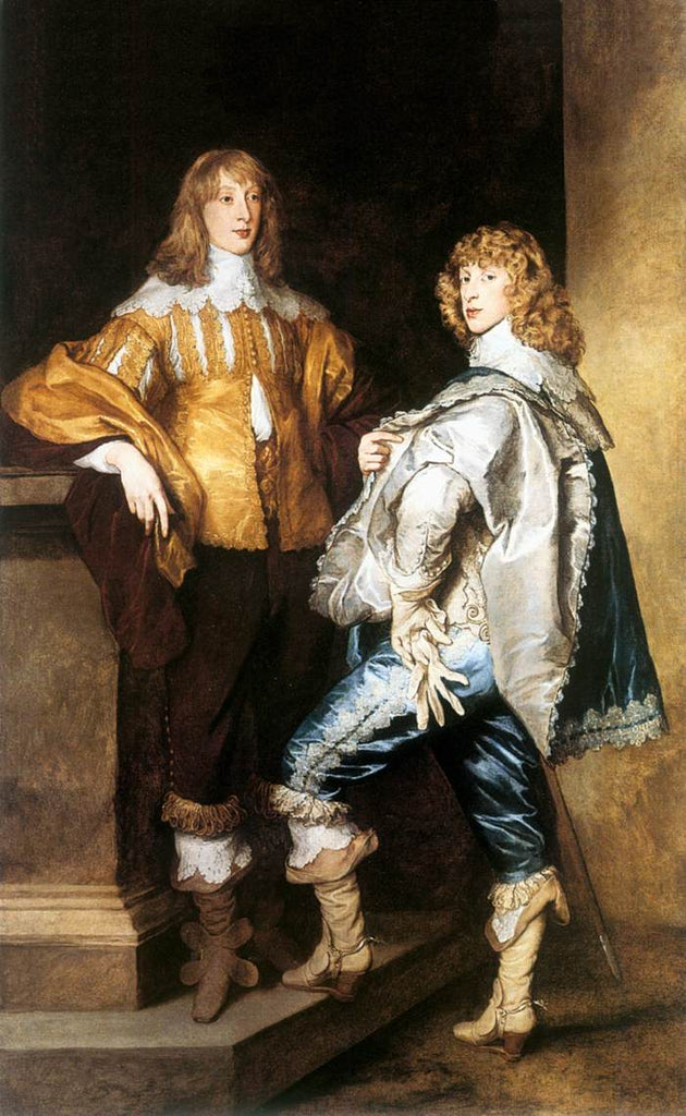Sir Anthony van Dyck - Lord John and Lord Bernard Stuart