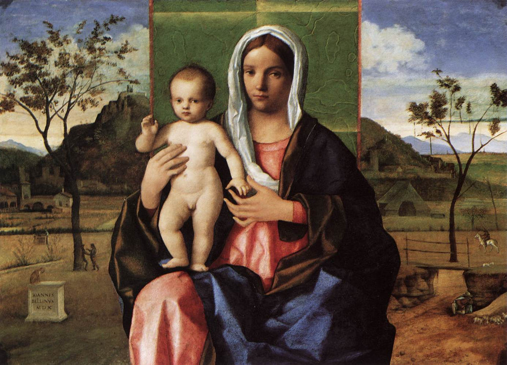 Giovanni Bellini - Madonna and Child Blessing