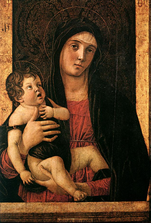 Giovanni Bellini - Madonna with Child c
