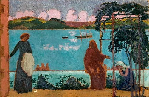 Maurice Denis - Martha and Mary