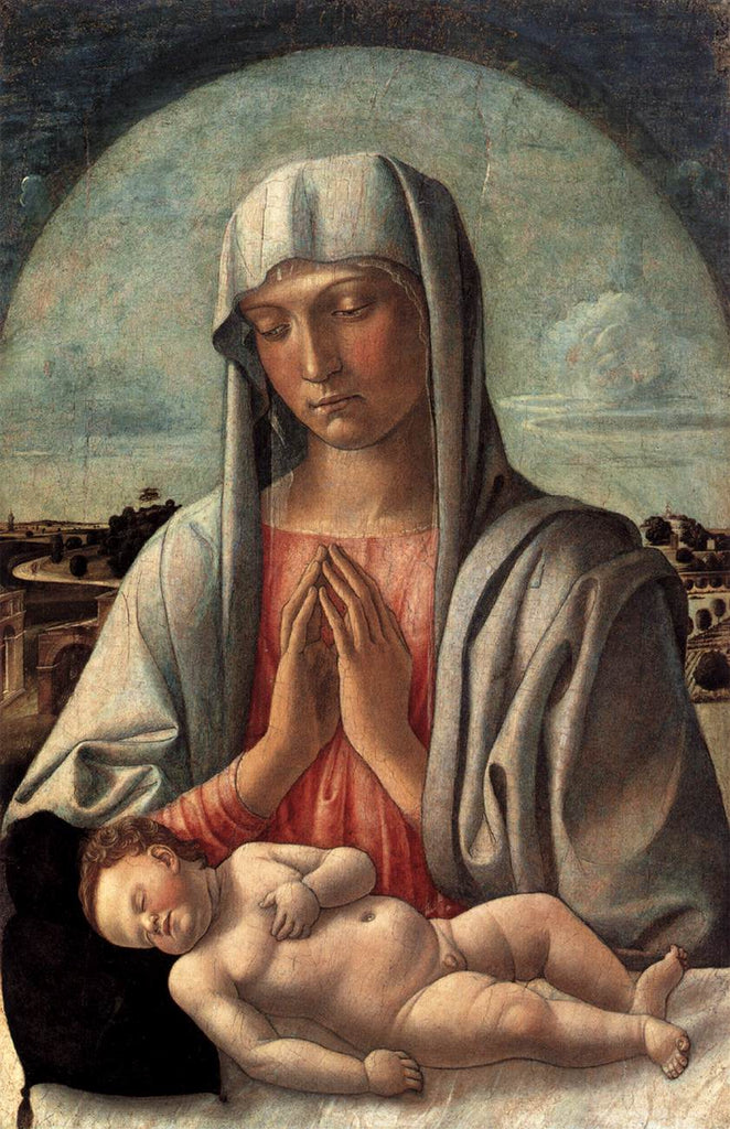 Giovanni Bellini - Met - Madonna and Child