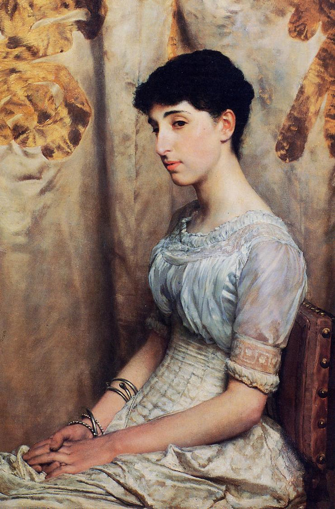 Lawrence Alma-Tadema - Miss Alice Lewis