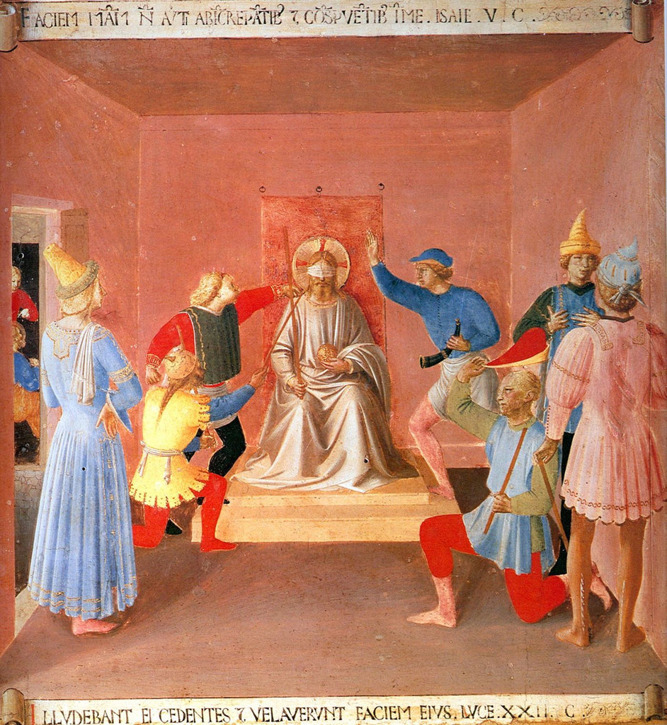 Fra Angelico - Mocking of Christ