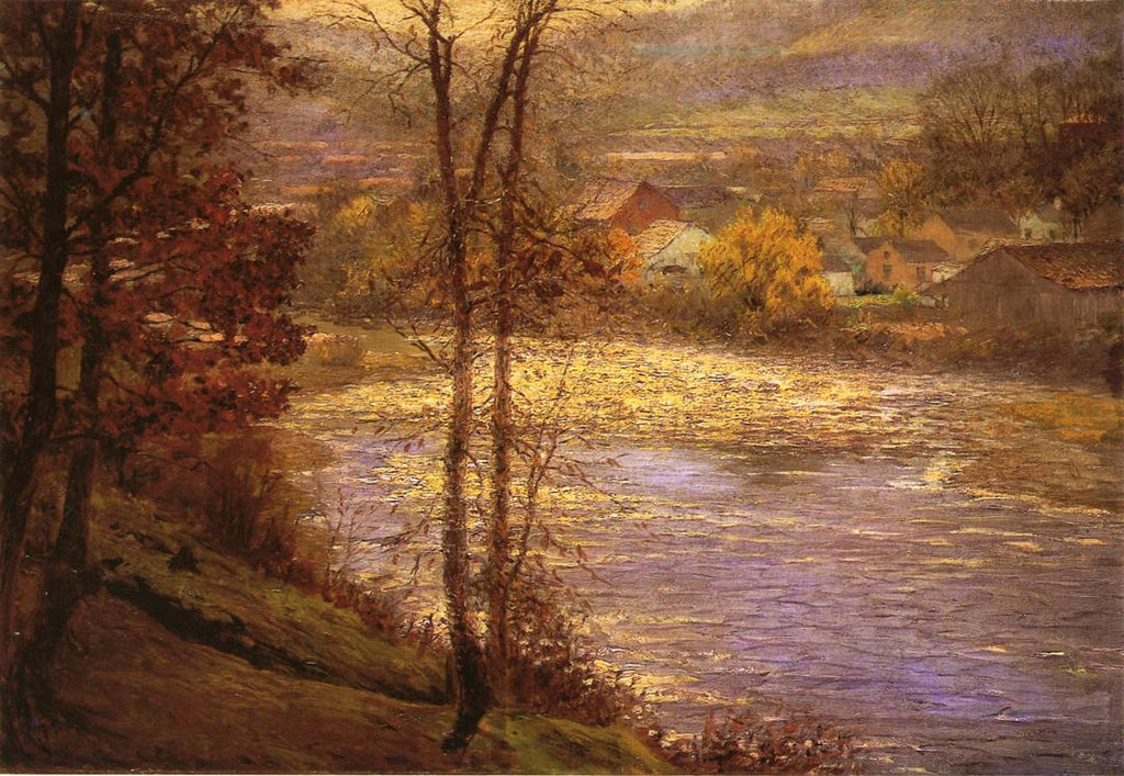 John Ottis Adams - Morning-on-the-Whitewater-1901
