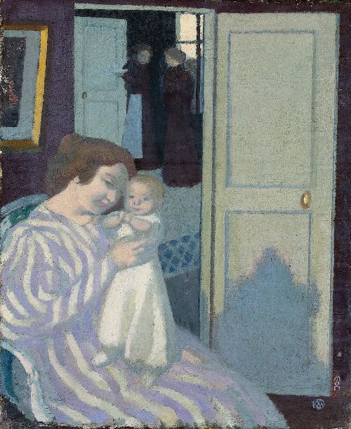 Maurice Denis - Mother And Child
