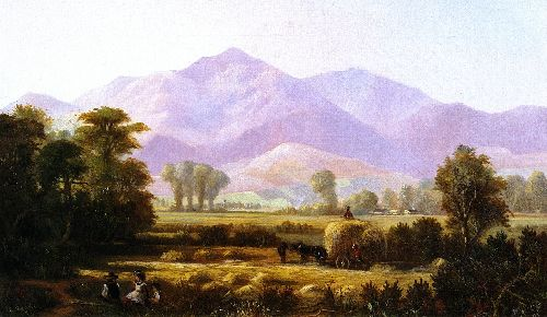 Edwin Deakin - Mount Diablo from Near Pleasanton
