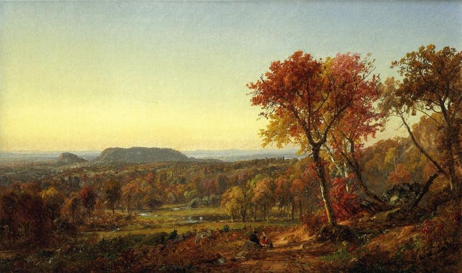Jasper Francis Cropsey - Mounts Adam and Eve