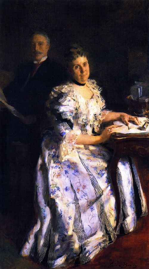 Cecilia Beaux - Mr and Mrs Anson Phelps Stokes