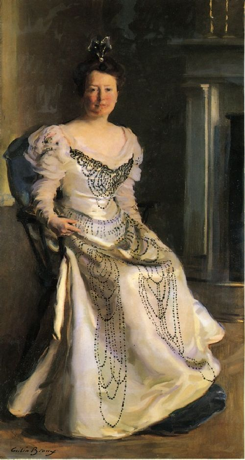 Cecilia Beaux - Mrs Robert Abbe