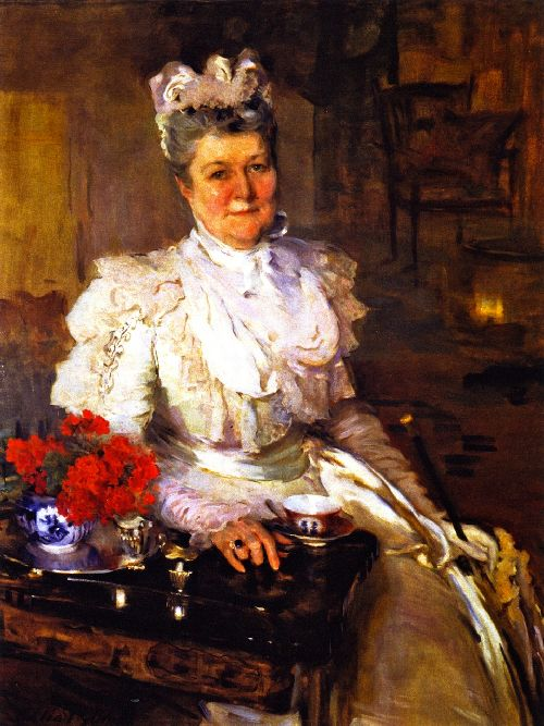 Cecilia Beaux - Mrs Thomas A Scott