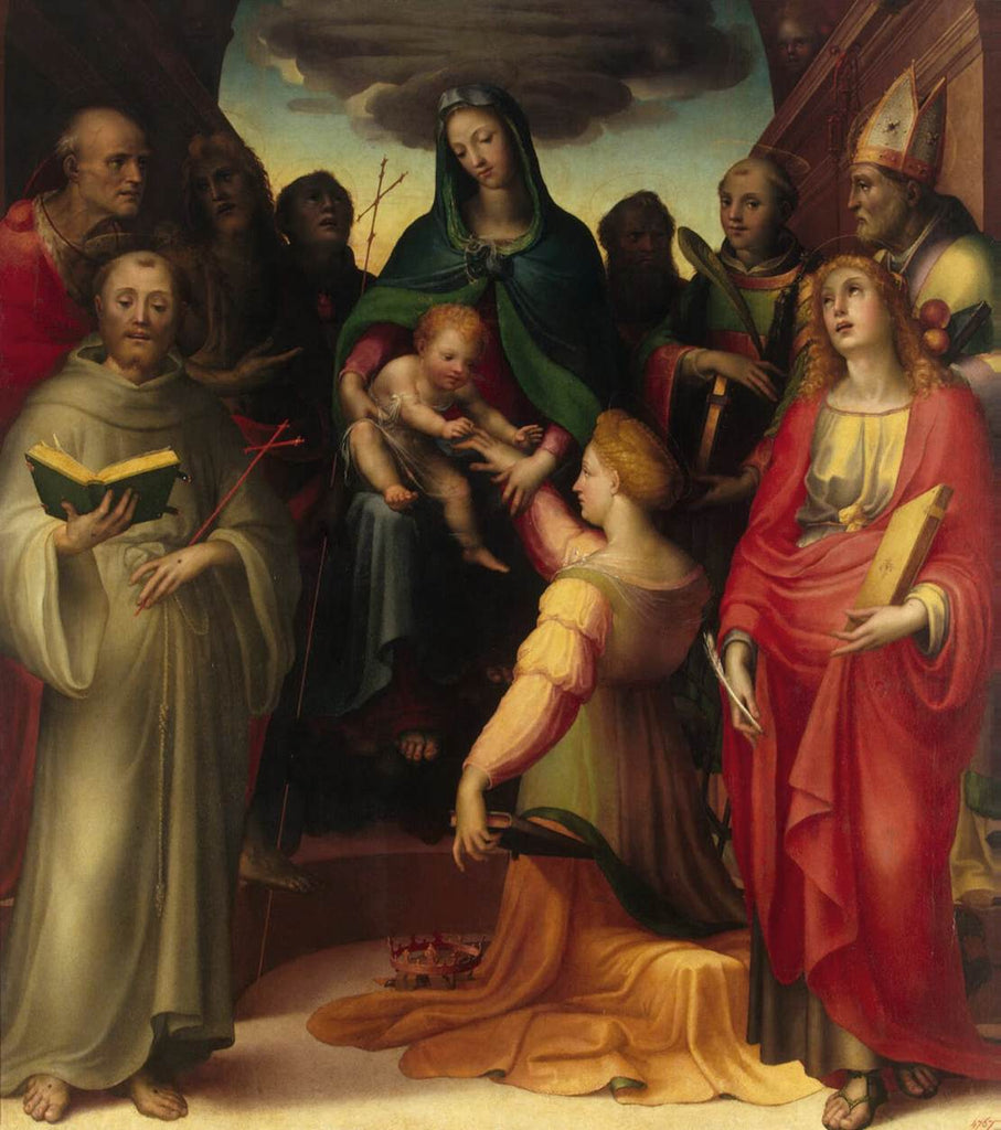 Domenico Beccafumi - Mystical Marriage of St Catherine