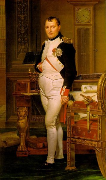 Jacques-Louis David - Napoleon in His Study