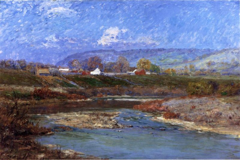 Theodore Clement Steele - November Morning II