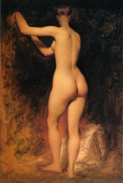 William Etty - Nude Study