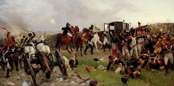 Ernest Crofts - On the Evening of the Battle of Waterloo 1879