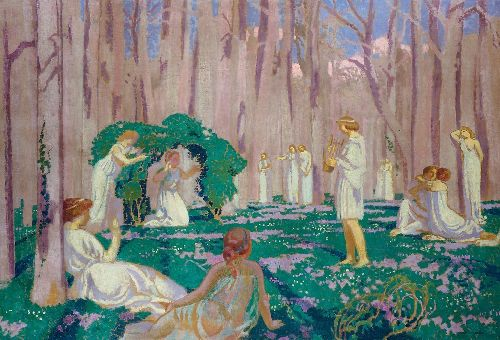 Maurice Denis - Orpheus and Eurydice