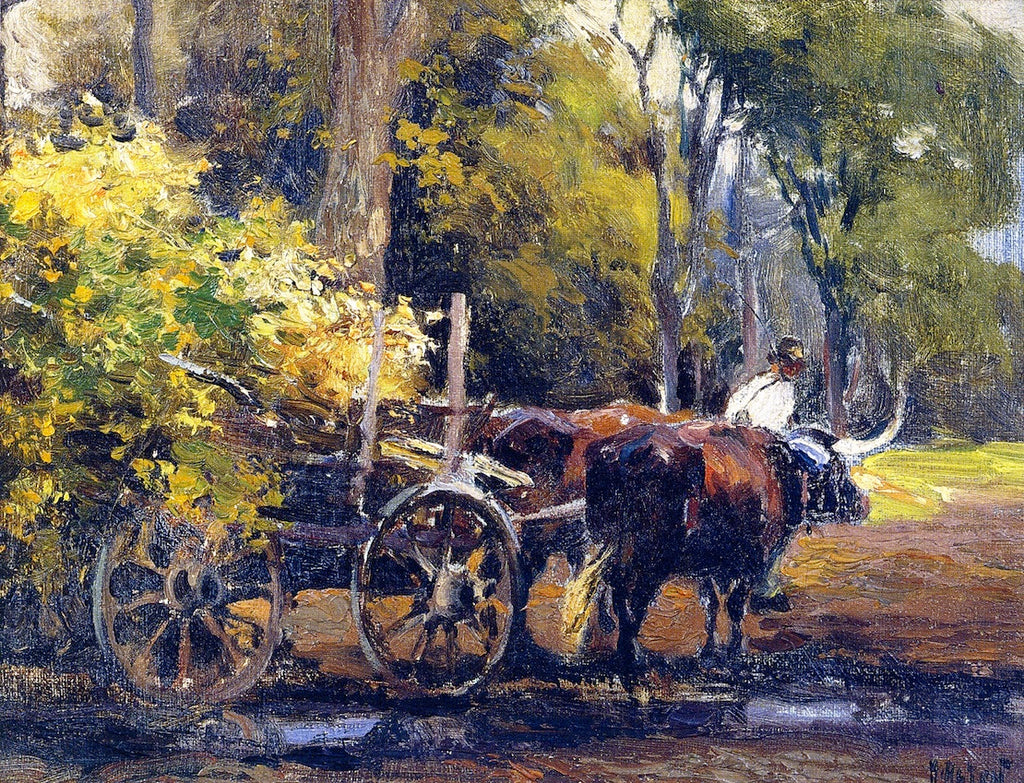 Mathias J Alten - Ox Cart