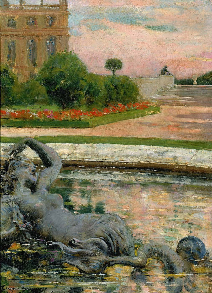 Carroll Beckwith - Parterre du Nord, Fontaine des Sirenes