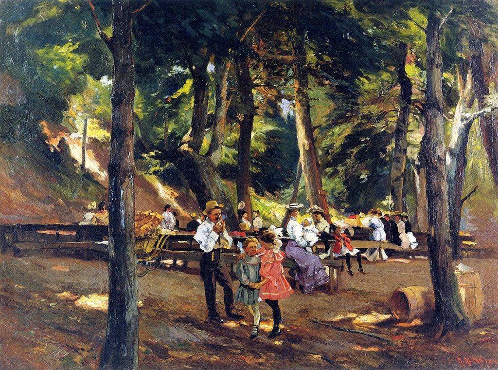 Mathias J Alten - Picnic at Macatawa