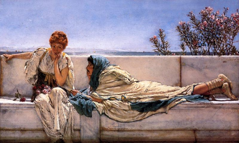 Lawrence Alma-Tadema - Pleading