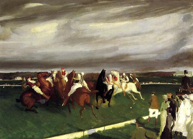 George Bellows - Polo at Lakewood