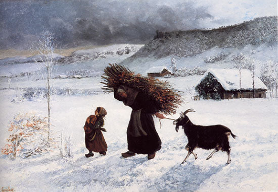Gustave Courbet - Poor Woman of the Village