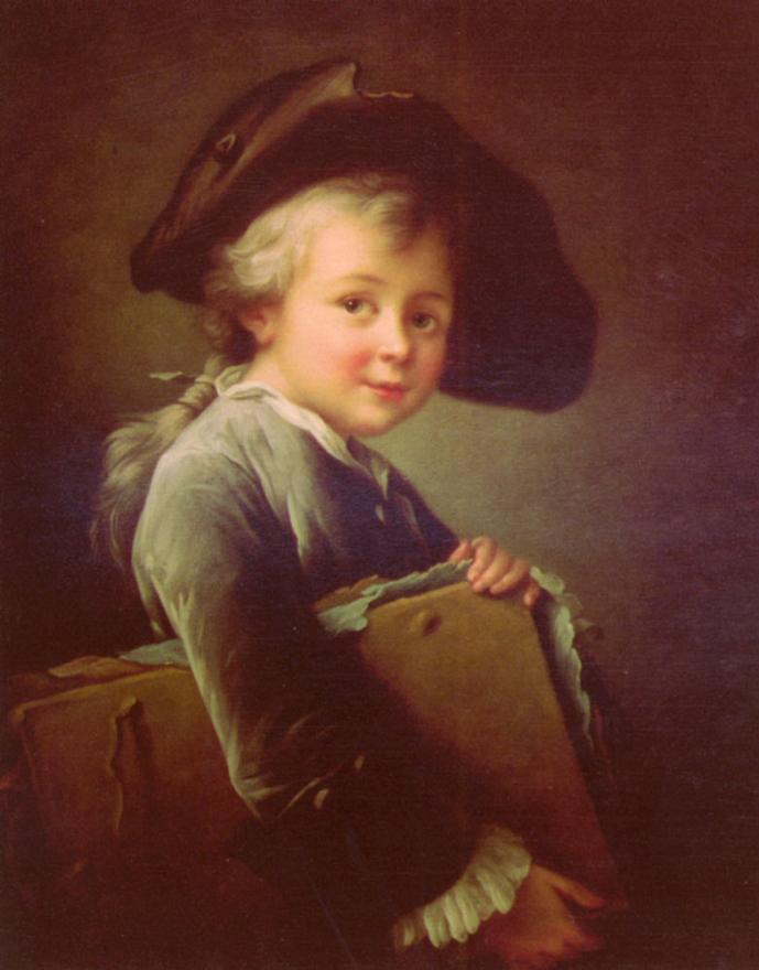 Francois-Hubert Drouais - Portrait Of The Artist As A Young Man