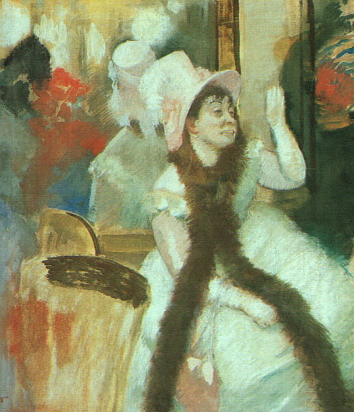 Edgar Degas - Portrait after a Costume Ball