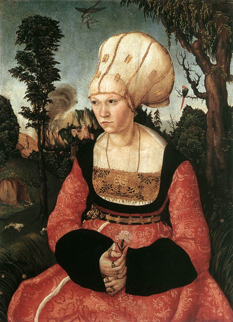 Lucas the Elder Cranach - Portrait of Anna Cuspinian