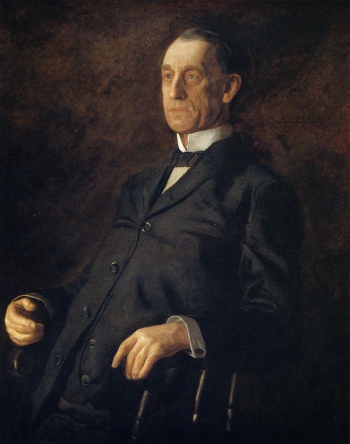 Thomas Eakins - Portrait of Asburyh W. Lee