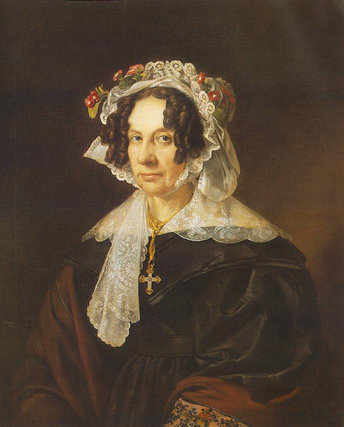 Miklos Barabas - Portrait of Ms. Konkoly