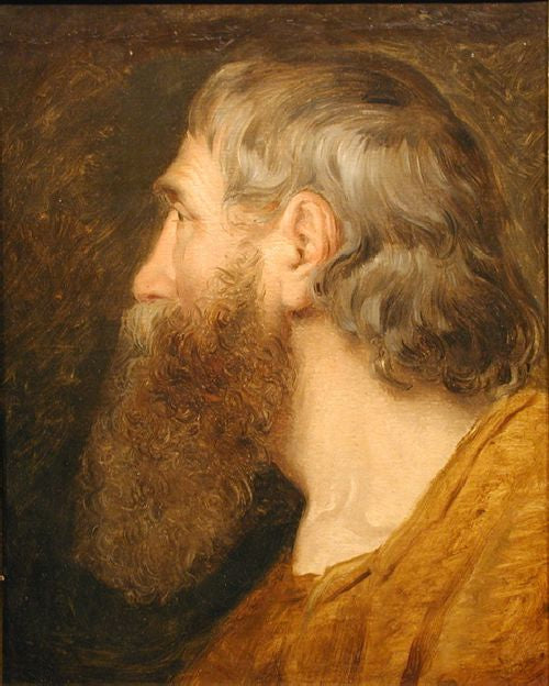 Friedrich von Amerling - Portrait of a Bearded Man