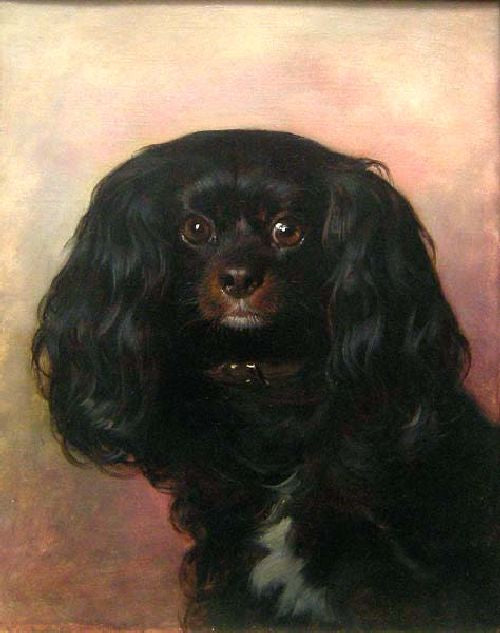 Friedrich von Amerling - Portrait of a Favorite Dog