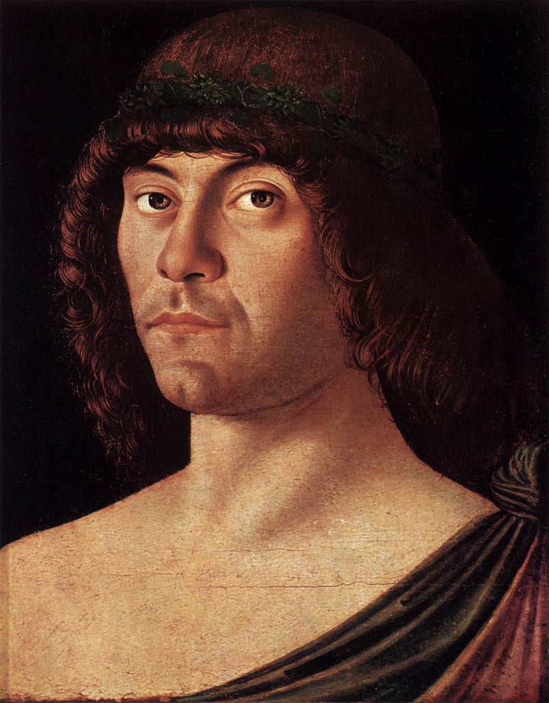 Giovanni Bellini - Portrait of a Humanist