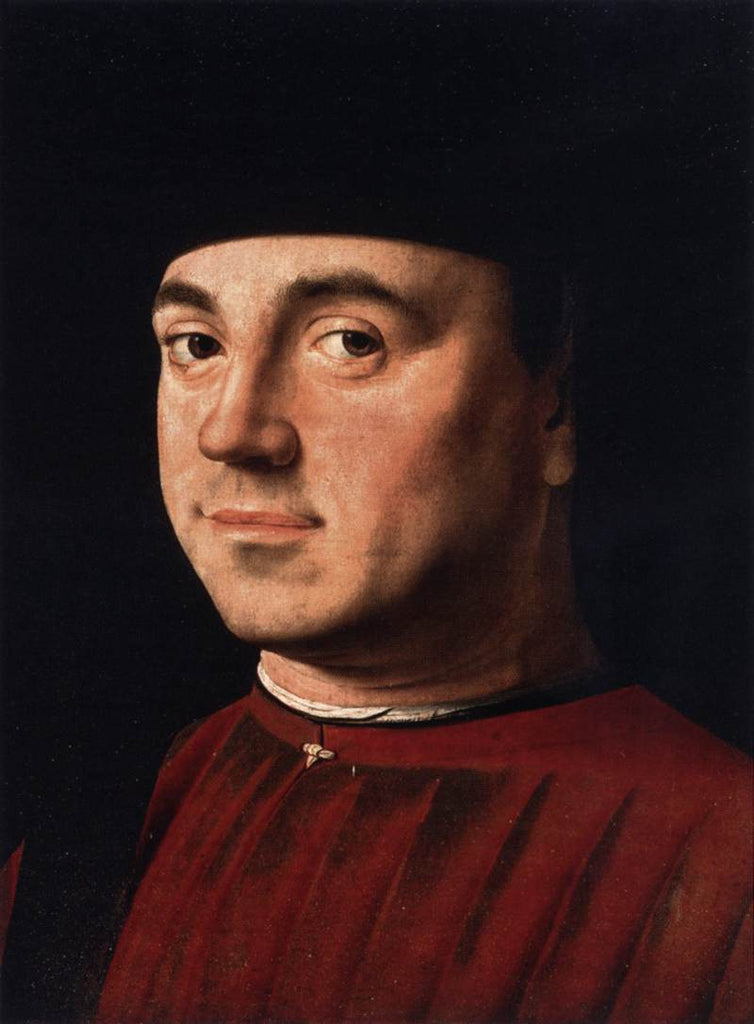 Da Messina Antonello - Portrait of a Man b
