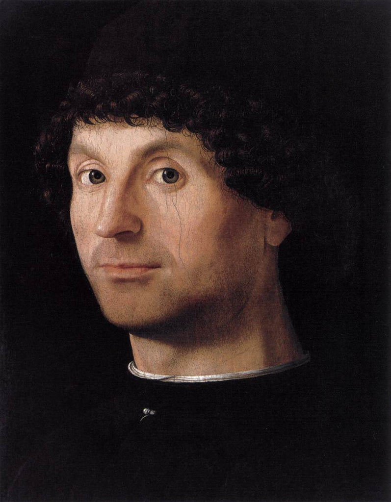 Da Messina Antonello - Portrait of a Man d