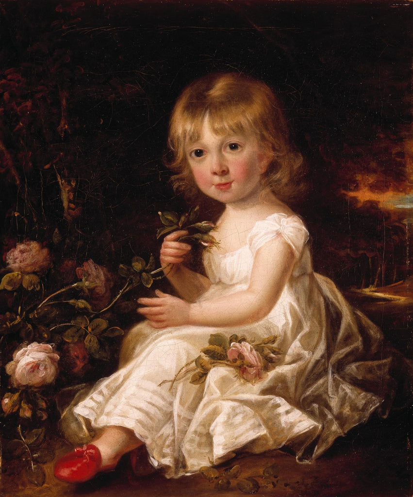 Sir William Beechey - Portrait of a Young Girl