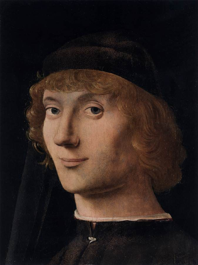 Da Messina Antonello - Portrait of a Young Man b