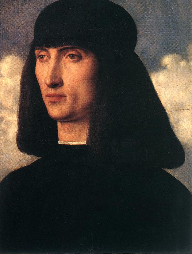 Giovanni Bellini - Portrait of a Young Man d