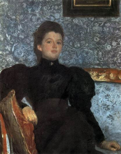 Valentin Alexandrovich Serov - Portrait of Countess V.V. Musinoy-Pushkina