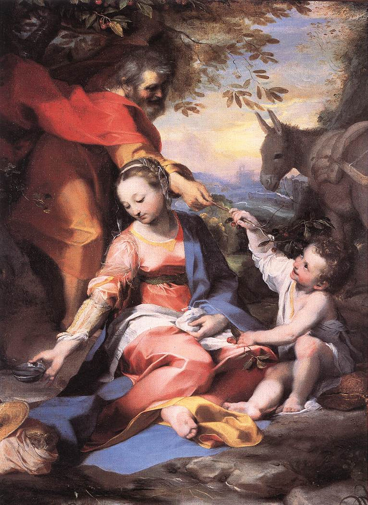 Federico Fiori Barocci - Rest on the Flight to Egypt
