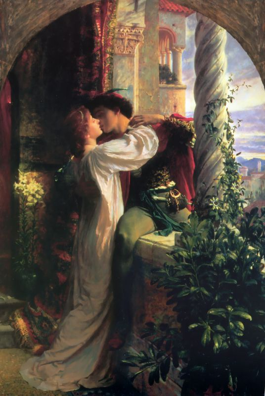 Sir Frank Dicksee - Romeo and Juliet