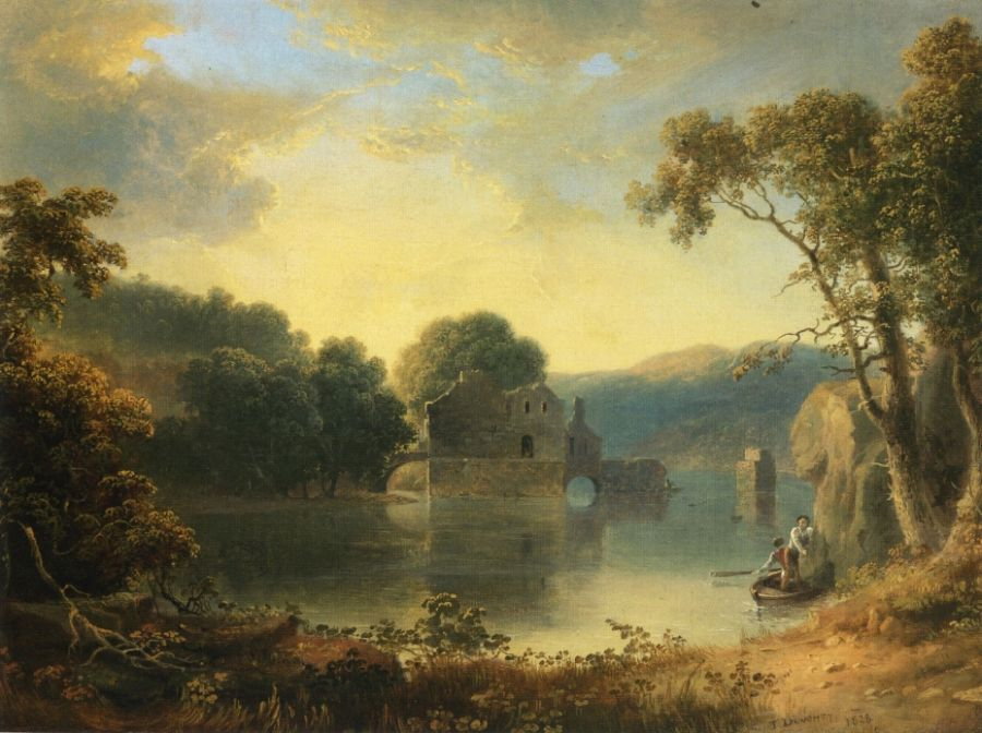Thomas Doughty - Ruins in a Landscape