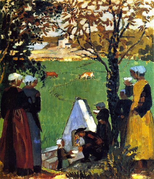 Maurice Denis - Sacred Spring in Guidel