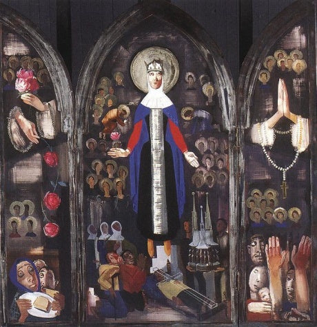 Vilmos Aba-Novak - Saint Elisabeth of Hungary 1931