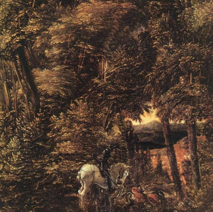 Albrecht Altdorfer - Saint George in the Forest